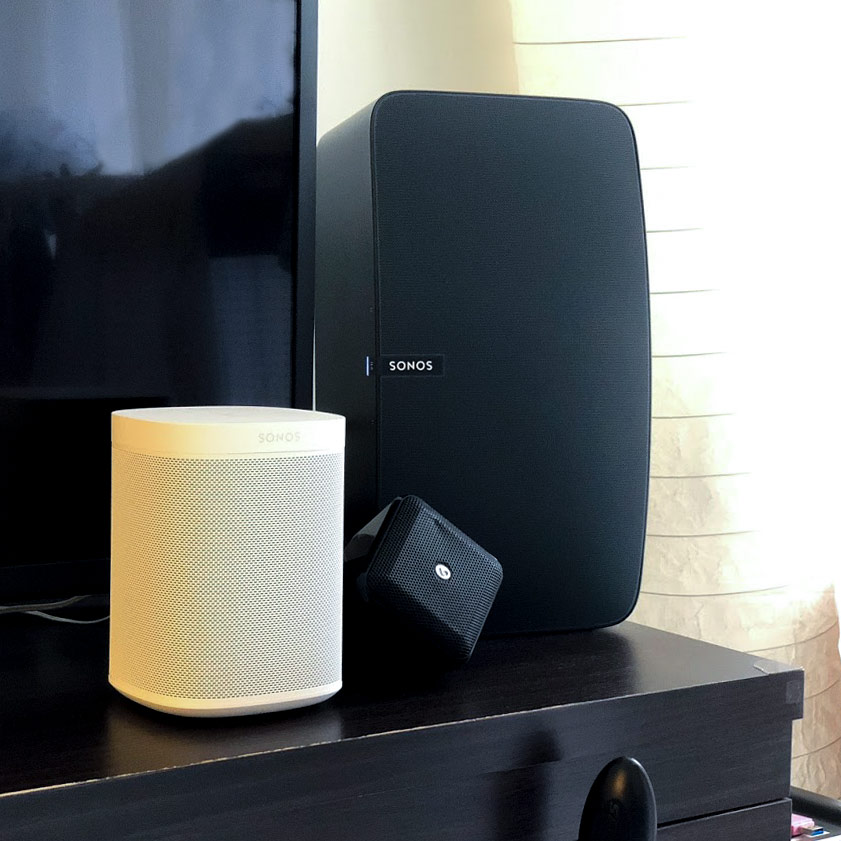 Sonos One and Sonos Play5